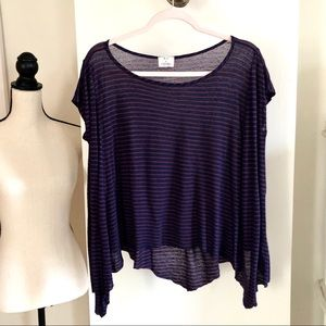 Anthropology Pins and Needles Loose Top. Size S